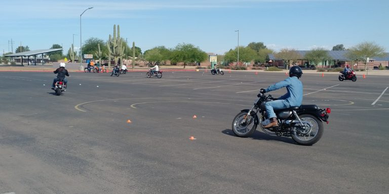 Ride Arizona MTC skills course work (image)